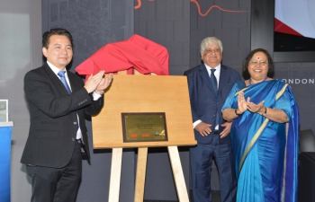India-UK Technical Hub inaugurated in London on 29/04/19 by UK Investment Minister Graham Stuart and Indian High Commissioner to UK Mrs. Ruchi Ghanashyam.