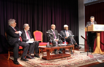Panel Discussion - Remembering V K Krishna Menon at Nehru Centre, London 3.5.2019.