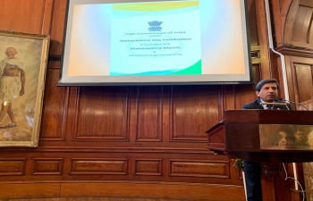Maharashtra Day celebrated at High Commission of India, London -10.05.2019