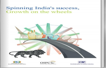 Spinning India's success, Growth on the wheels