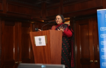 High Commission of India organised an event to showcase the art of Pashmina making by the artisans and craftsman from Kashmir at the Taj Hotel, London - 03.02.2020