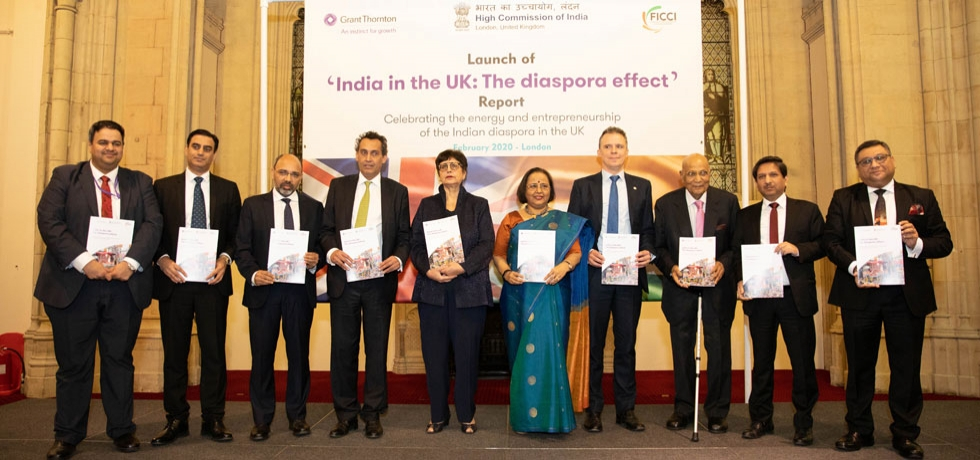 High Commission of India along with Grant Thornton and FICCI-UK launched a report titled