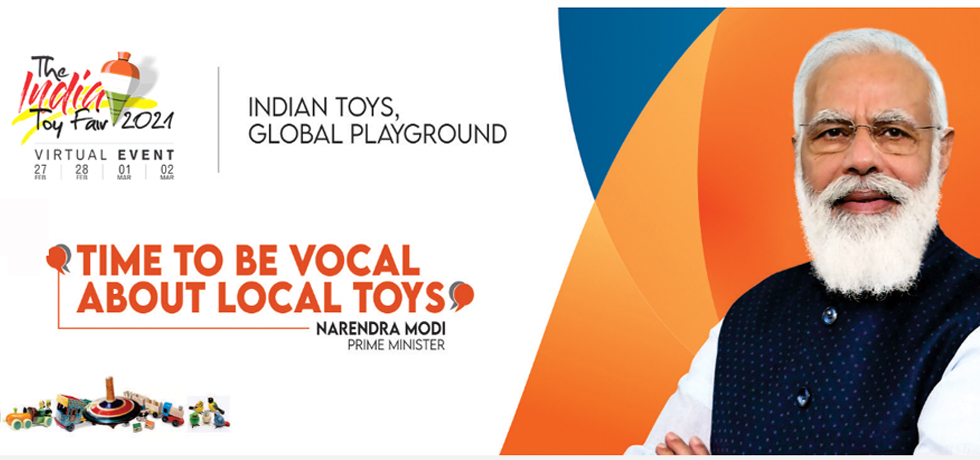 The India Toy Fair  (27 Feb to 02 March 2021)