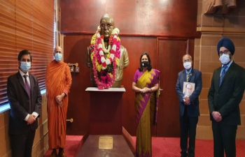 High Commission of India pays homage to Dr Baba Saheb Ambedkar on his 130th Birth Anniversary