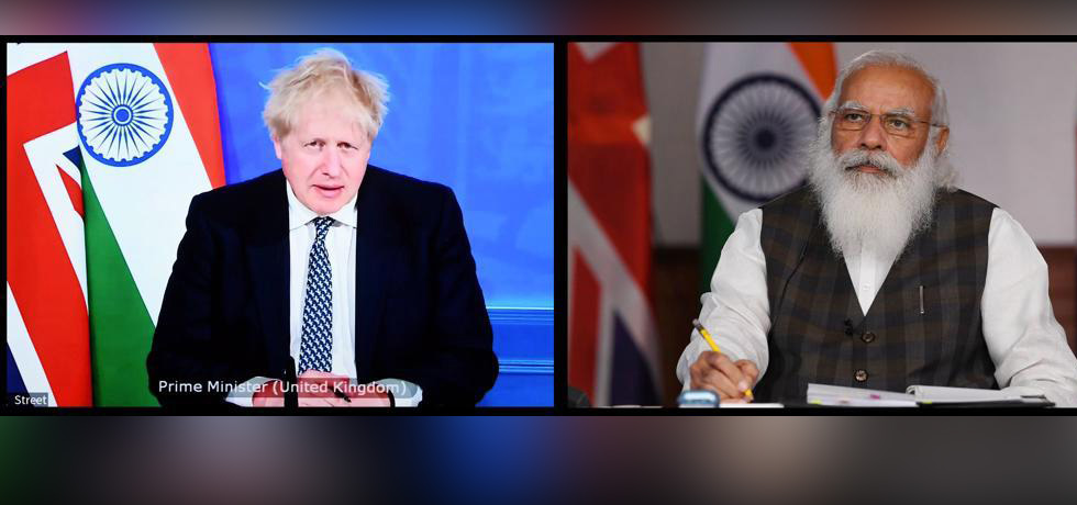 Prime Minister held a virtual summit with Boris Johnson, Prime Minister of United Kingdom